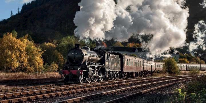 Steam train experience