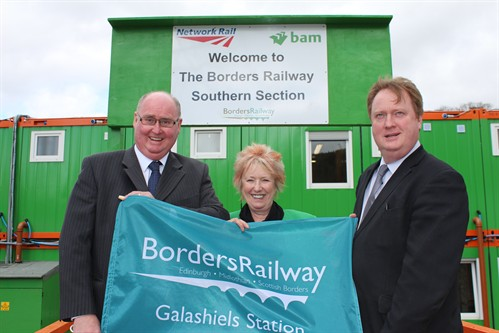 Christine Grahame Visits The South Section Office