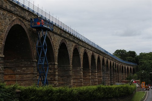 LOCAL STONEMASONS BEGIN RESTORATION OF HISTORIC LOTHIANBRIDGE VIADUCT 2