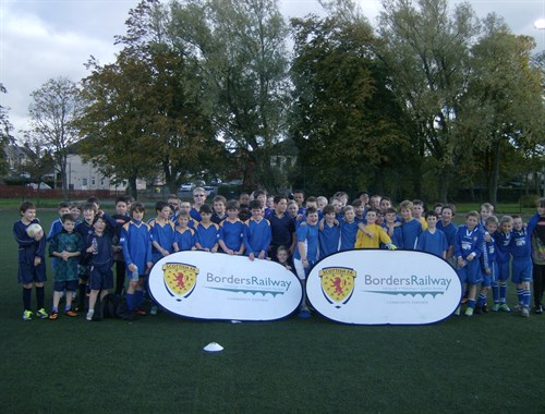 Scottish FA October Holiday Programme - Group Image