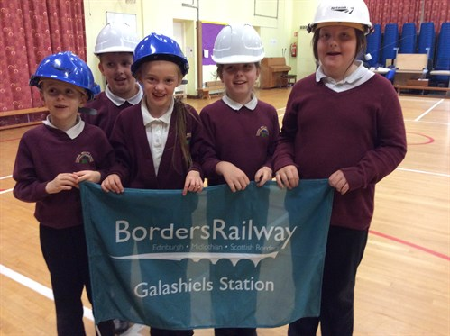Over 1,500 pupils take part in Borders Railway safety workshops
