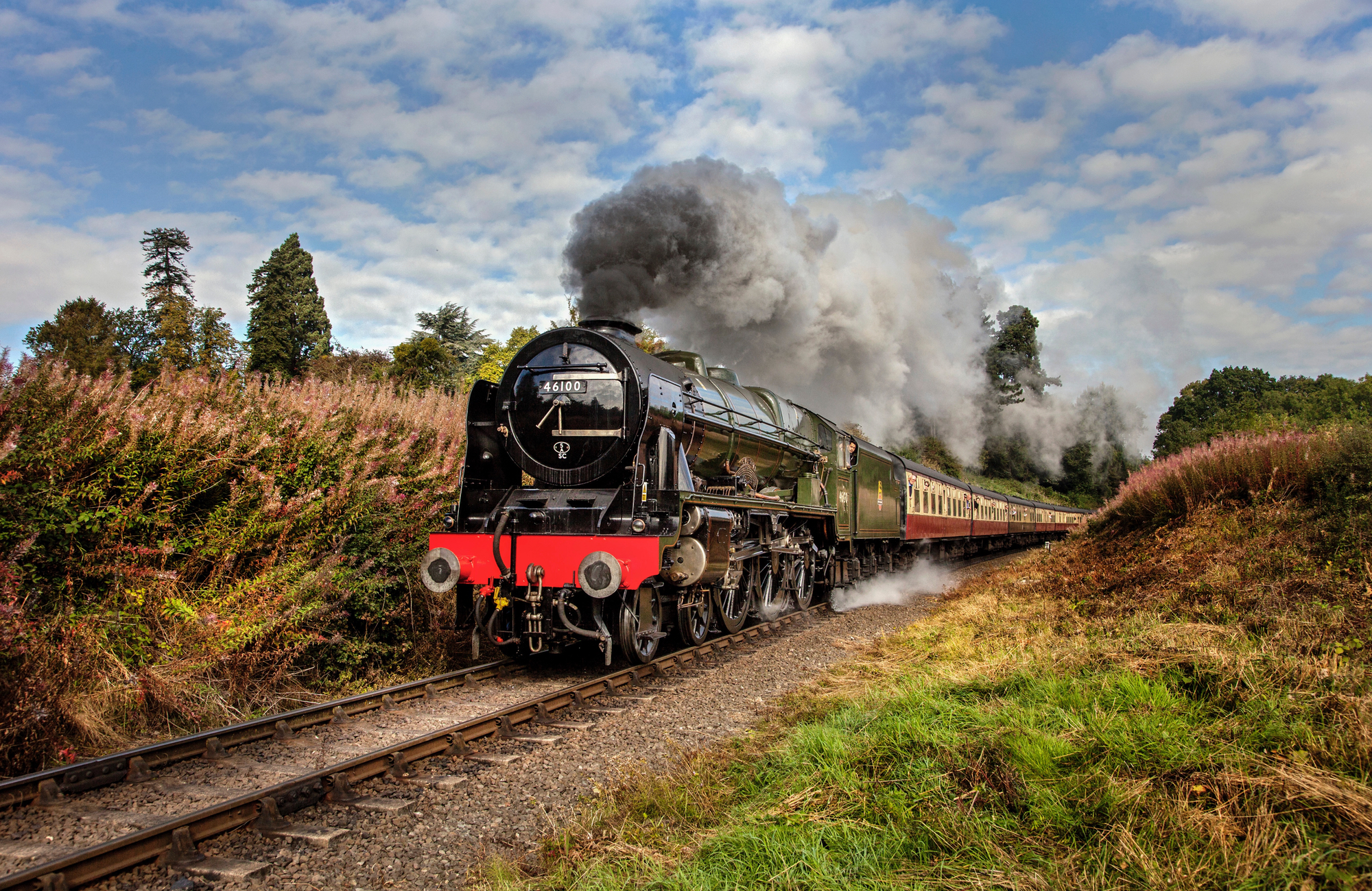 steam train scottish borders